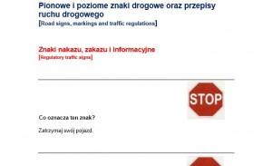 Testy po polsku