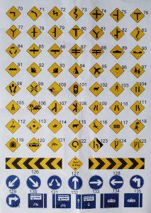 RSA Road Signs - Nauka Jazdy Dublin